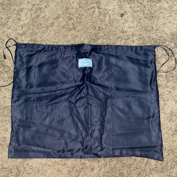 Prada Black Handbag Dustbag Dust Bag